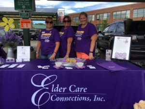 Elder Care Home Connections - Memory Care - Bloomington Dementia Care - alz walk 2018